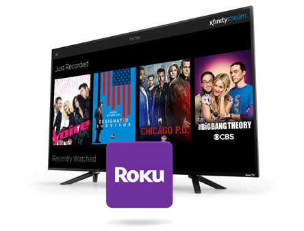 Xfinity Stream on Roku